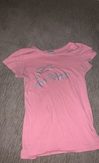 Sz Small baby pink Guess brand short sleeve shirt