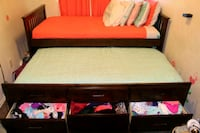 Twin trundle bed frame ONLY  Paramount, 90723