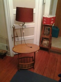 Table and lamp combo