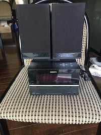 Sony stereo system  Mississauga, L5M 0M3