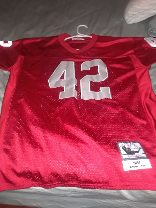 outlet store 3d77c 007fa Mitchell and Ness Ronnie Lott Jersey
