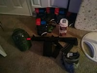 A-15 Airsoft Panter and accessories lot Tulsa, 74132