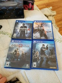 Ps4 games. Montreal, QC, Canada
