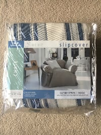 Sure Fit Chair Slipcover Sterling