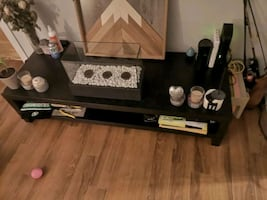 Black tv stand or coffee Table