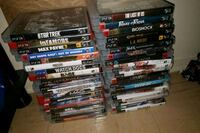 assorted DVD movie case lot