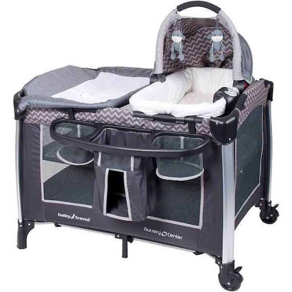 782a4f097a221 Used baby s black and gray pack n play for sale in Yeadon - letgo