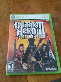 xbox 360 guitar hero 3 game case Rock Island, 61201