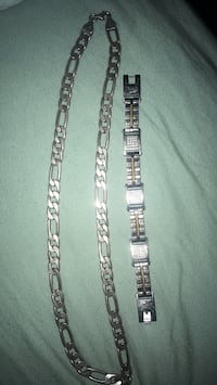 two silver and gold link bracelets Nashville, 37214