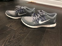 pair of gray Nike low-top sneakers Vaughan, L0J 3Y4