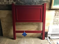 Red Twin heaboard and frame