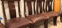 Genuine Alligator Skin Table and Chair set Sterling, 20165