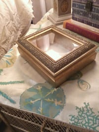 "GOLD WOODEN SHADOW BOX~9""x7""x2"" Cape Coral, 33990"