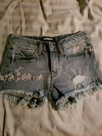 Express shorts size 00. Worn once. Perfect conditi Odessa, 79763