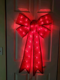 Christmas Light up Ribbon Bow 24inches Pembroke Pines, 33024