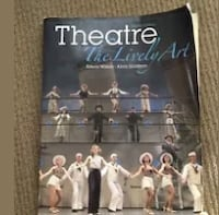 Theatre The Lively Art 8th Edition used some water damage  Panhandle, 79068
