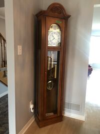 Tempus Fugit grandfather clock. Mint condition