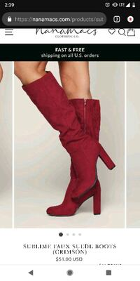 Knee high boots Frederick, 21701