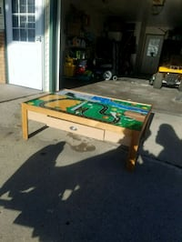 white and green air hockey table Des Moines, 50320
