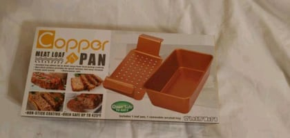 Copper Meat Loaf Pan