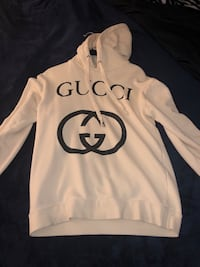 White Gucci Hoodie Vancouver