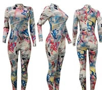 Printed jumpsuit Savage, 20763