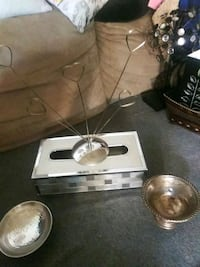Kleenex box  silver Weigh.candle& dish pic stand  Lexington, 40504