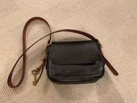 Fossil genuine leather handbag Oslo, 0353