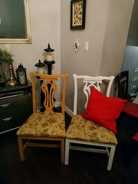 brown wooden table with chair Kitchener