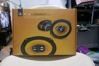 black and yellow Pioneer subwoofer speaker Surrey, V4A 2A2