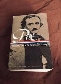 Edgar Allen Poe - 'Poetry, Tales, and Selected Essays' Dayton, 08810