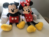 Mickey mouse and Minnie Mouse stuffed animals Glen Burnie