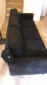 black suede recliner sofa chair Arlington, 22209