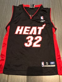 Youth small Reebok Shaq Miami Heat Basketball Jersey
