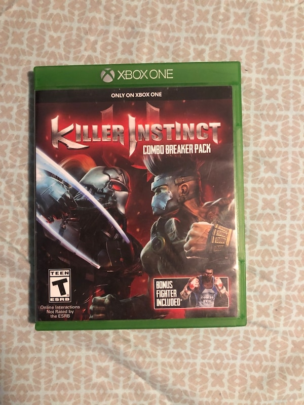 Xbox one game Killer Instict $20