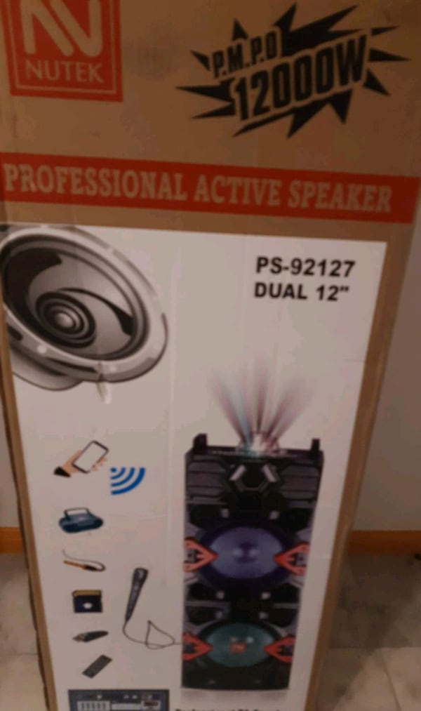 Bluetooth party speaker 6
