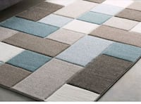 gray and white area rug Mississauga, L5J 4E6