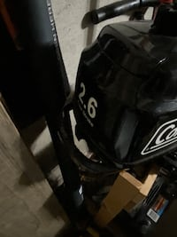 Coleman 2.6hp 4stroke outboard