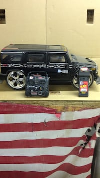 black RC hummer with remote control Franklin, 07416