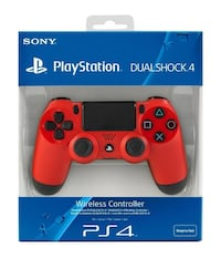Brand New Play station 4 wireless controller Red Springfield