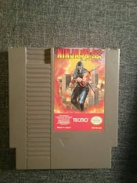 Nintendo Tecmo Ninja Garden game cartridge Ottawa, 61350