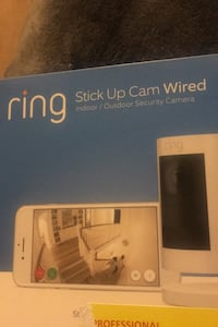 The ring security interactive camera