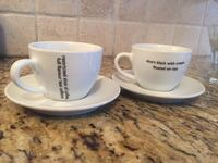 2 coffee cup set Vaughan, L6A 1A8