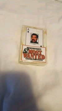 52 Most Wanted deck of cards Norwich, 06360