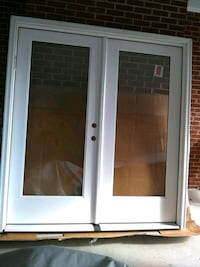 white wooden framed glass door Brookeville, 20833