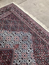 Burgundy and navy hand knotted carpets Ellicott City, 21042