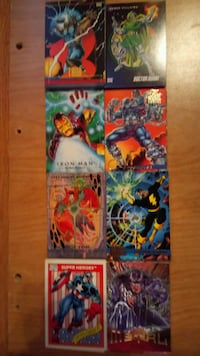 MARVEL card lot Toronto, M6P 2X8