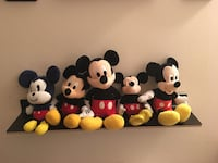 Mickey Mouse Plush Animals