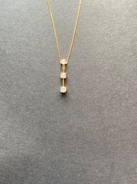 3 Stone Diamond Necklace Gaithersburg, 20879