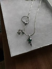 Sterling silver ring with necklace and earrings  Cuyahoga Falls, 44221